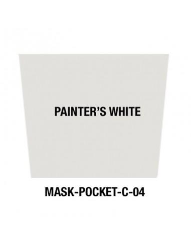 Masque tissu Painter's White