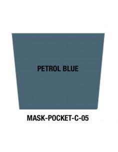 Masque tissu Petrol blue