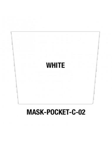 Masque tissu White