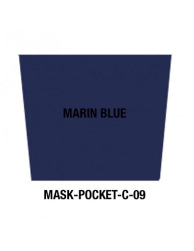 Masque tissu Marin blue