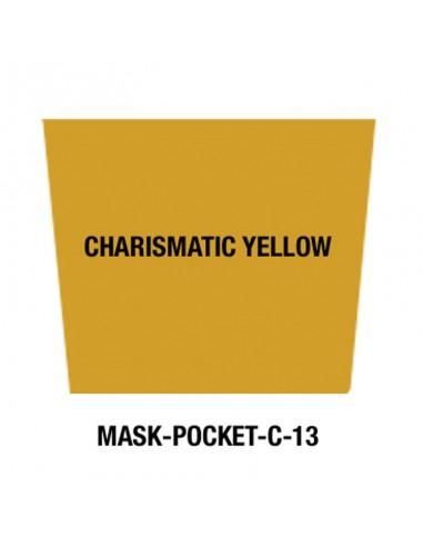 Masque tissu Charismatic yellow