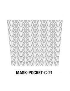 Masque tissu motif