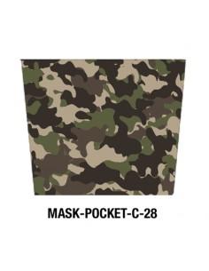 Masque tissu motif Army